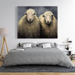 Canvas 48 x 60 - Wool sheeps