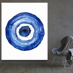 Canvas 48 x 60 - Erbulus blue evil eye