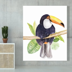 Canvas 48 x 60 - Toucan