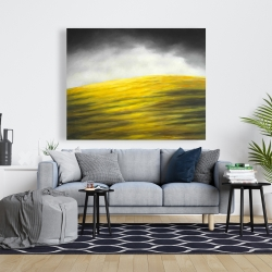 Canvas 48 x 60 - Yellow hill
