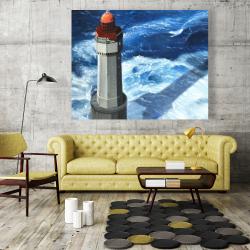 Canvas 48 x 60 - The headlight of jument