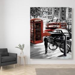 Canvas 48 x 60 - European street