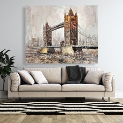 Canvas 48 x 60 - London tower bridge