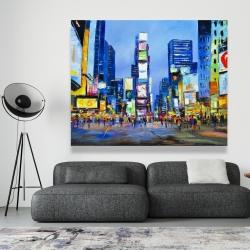 Canvas 48 x 60 - Cityscape in times square