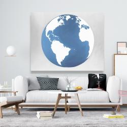 Canvas 48 x 60 - The earth