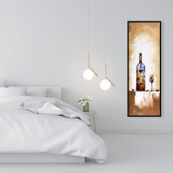 Framed 16 x 48 - White wine
