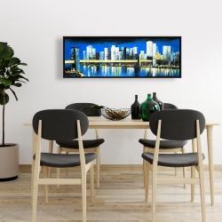 Framed 16 x 48 - Skyline of lower manhattan