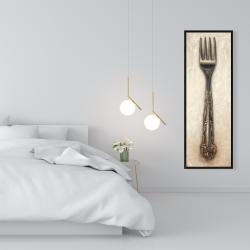 Framed 16 x 48 - Vintage fork
