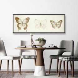 Framed 16 x 48 - Butterflies sketch
