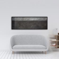 Framed 16 x 48 - Shades of gray