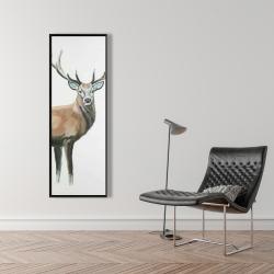 Framed 16 x 48 - Deer