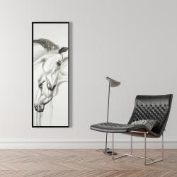 Framed 16 x 48 - Inseparables