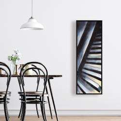 Framed 16 x 48 - Piano keys