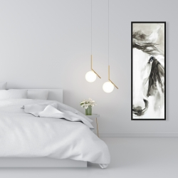 Framed 16 x 48 - Beautiful abstract horse
