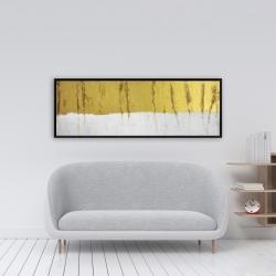 Framed 16 x 48 - Golden stripe