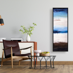 Framed 16 x 48 - Colors of the beach