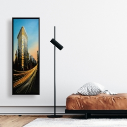 Framed 16 x 48 - Flatiron building in light