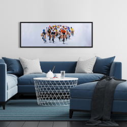 Framed 16 x 48 - Cycling competition