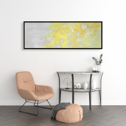 Framed 16 x 48 - Gold erosion