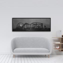 Framed 16 x 48 - Amusement park