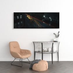 Framed 16 x 48 - Downtown