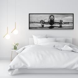 Framed 16 x 48 - Grayscale plane