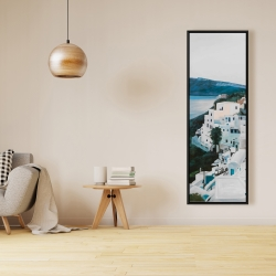 Framed 16 x 48 - Travel in greece