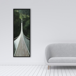 Framed 16 x 48 - Steep bridge