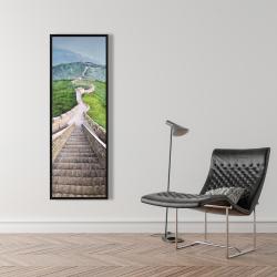 Framed 16 x 48 - Great wall of mutianyu