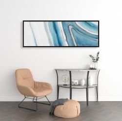 Framed 16 x 48 - Round geode