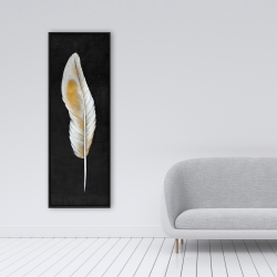 Framed 16 x 48 - Feather