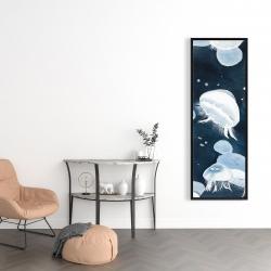 Framed 16 x 48 - Jellyfishs