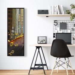 Framed 16 x 48 - New york city 9th street