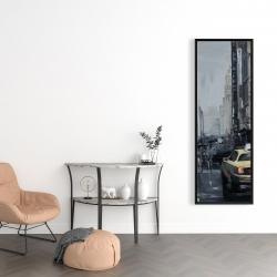 Framed 16 x 48 - New york in the dark