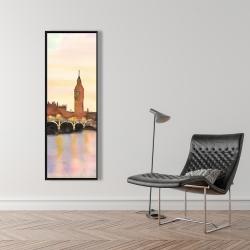 Framed 16 x 48 - Sunset on the big ben