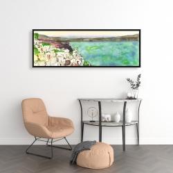 Framed 16 x 48 - Landscape of crete