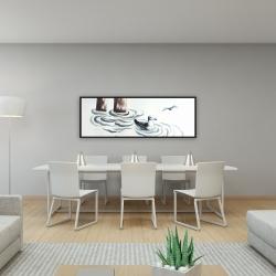 Framed 16 x 48 - Seagull