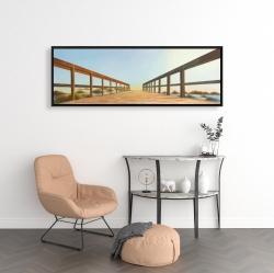 Framed 16 x 48 - Footbridge