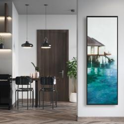 Framed 16 x 48 - Dream travel