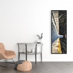 Framed 16 x 48 - New-york subway