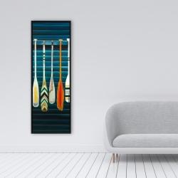 Framed 16 x 48 - Paddles