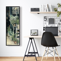 Framed 16 x 48 - Plants shop