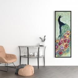 Framed 16 x 48 - Proud as a peacock