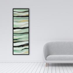 Framed 16 x 48 - Mint mood