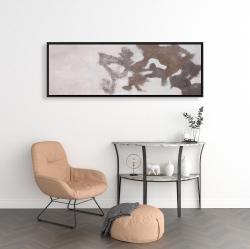 Framed 16 x 48 - Dyeing