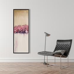 Framed 16 x 48 - Vintage flower cluster