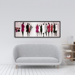 Framed 16 x 48 - Walk