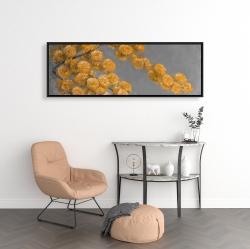 Framed 16 x 48 - Golden wattle plant