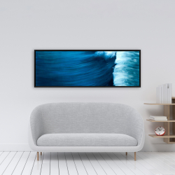 Framed 16 x 48 - Wave