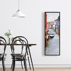 Framed 16 x 48 - Venetian landscape